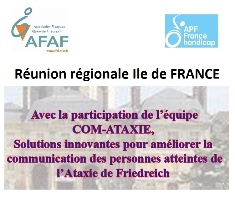 Réunion régionale Ile de France
